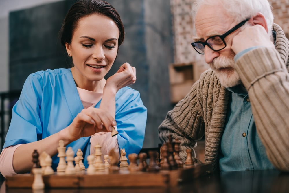 non-medical home care provider with an elder