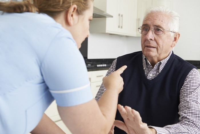 Potential concerns of home care elder abuse